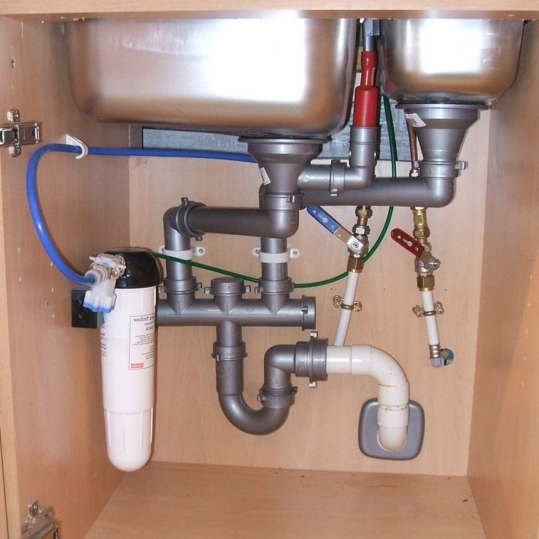 Plumbing Design For Kitchen Sink Plumbing Under Kitchen Sinks Bathroom Sink Drain