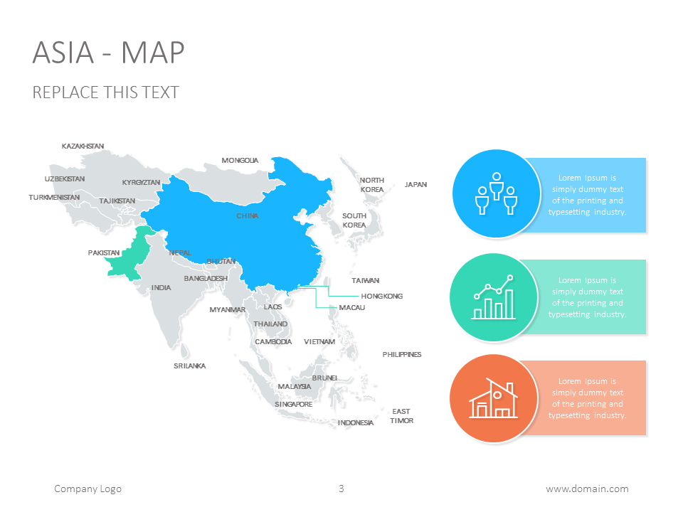Asia map google slide map presentationdesign slidedesign map asia map google slide map presentationdesign slidedesign gumiabroncs Images