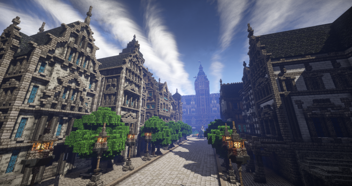 Townhall Of Elsterburg Minecraft Project Amazing Minecraft Builds - Minecraft haus ideen bauplan