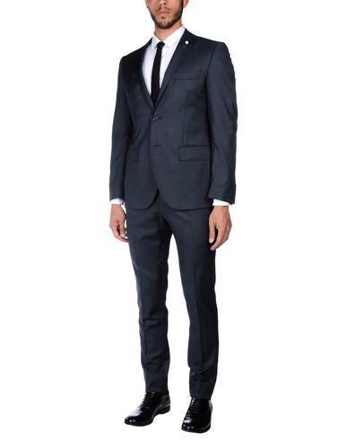 LUIGI BIANCHI Mantova Men's Suit Dark blue 46 suit