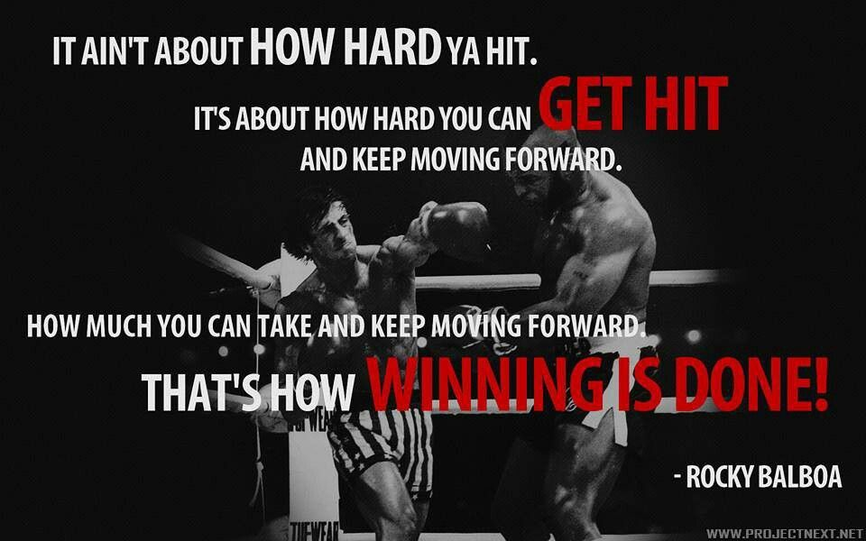 Rocky Balboa Boxing Quotes Rocky Quotes Rocky Balboa Quotes