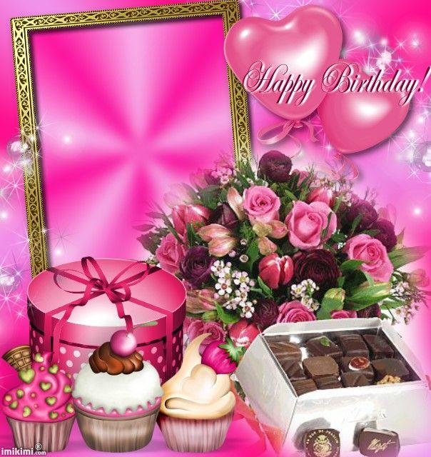 Imikimi Happy Birthday Frame Frame Design Happy Birthday