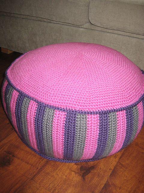 Sitting Bag Puff Pouf Pattern By Sonea Delvon Puf Pinterest