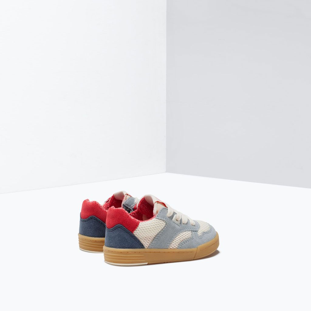 ZARA - COLLECTION AW15 - COMBINED SNEAKER | BABY SHOES | Pinterest