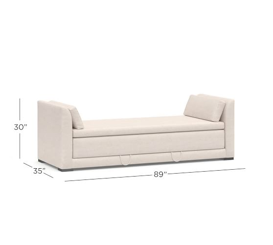 Luna Upholstered Daybed Sleeper With Images