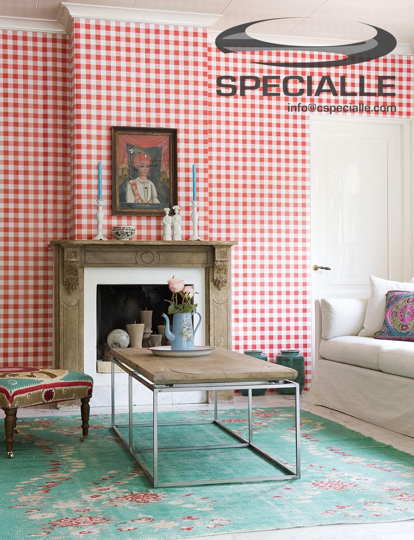 Papel #Tapiz de Cuadrícula en Color #Blanco con #Rojo. #Arquitectura ...