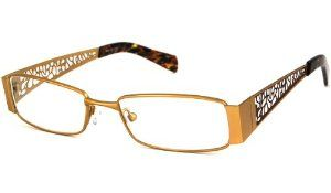 """Calabria Readers Reading Glasses - 812 - Gold / GOLD +3.50 by Calabria Readers. $14.99. 1"""" High. Available in Variety of Colors & Powers. Hand-Made. Lightweight. Optical Quality. Calabria Fashion Reading glasses are an elegant fusion of function & style. The trendy R812 is designed with a meticulously crafted, LIGHTWEIGHT & durable metal frame."""