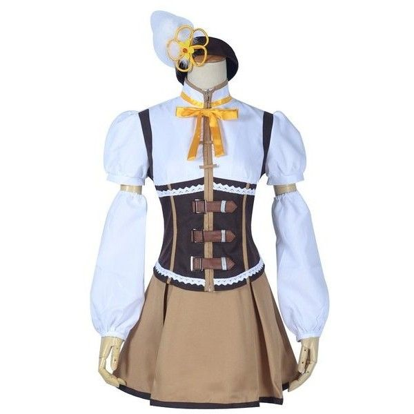 Puella Magi Madoka Magica Mami Tomoe cosplay costume csddlink any sizes