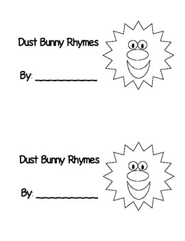 Dust Bunny Rhyming Book Rhyming Activities Rhyming Kindergarten