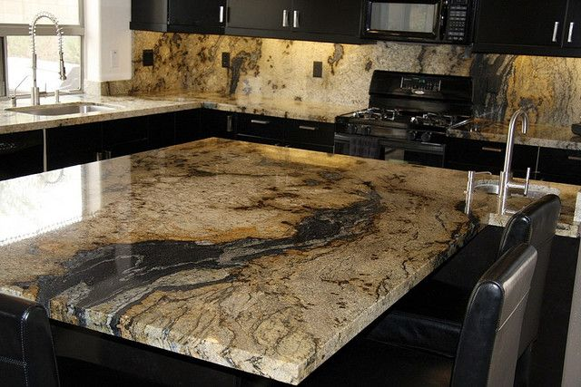 Veins Granite Island Counter Countertop