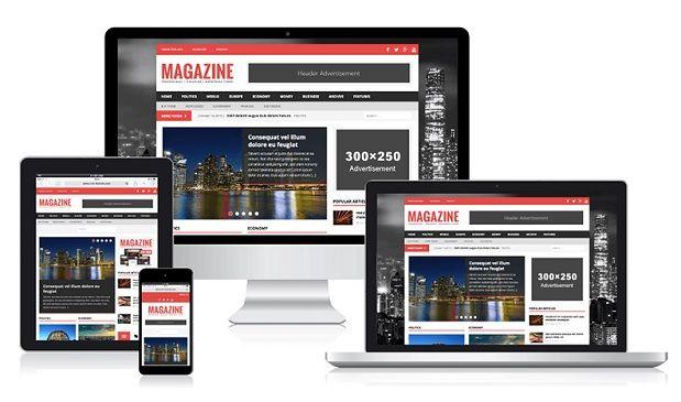 Amazing Magazine WordPress Theme   Wordpress, Wordpress magazine ...