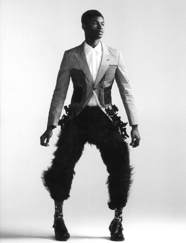 Salieu Jalloh Male Model Face Black Male Models African Fashion Designers