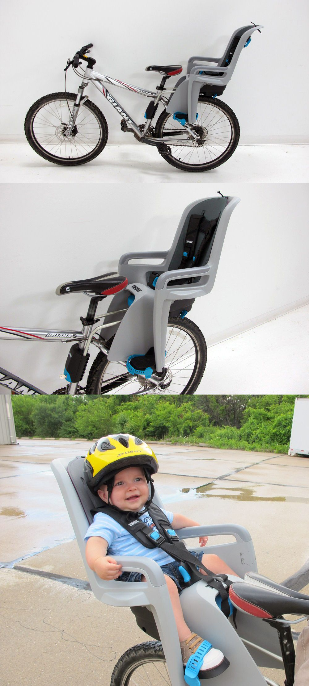 The perfect cycling or biking idea for moms and dads that want to bring their little ones along for the ride! Thule ridealong child bike seat - for 9 months ...  sc 1 st  Pinterest & A Thule RideAlong bike seat that adjusts as your child grows AND ... islam-shia.org