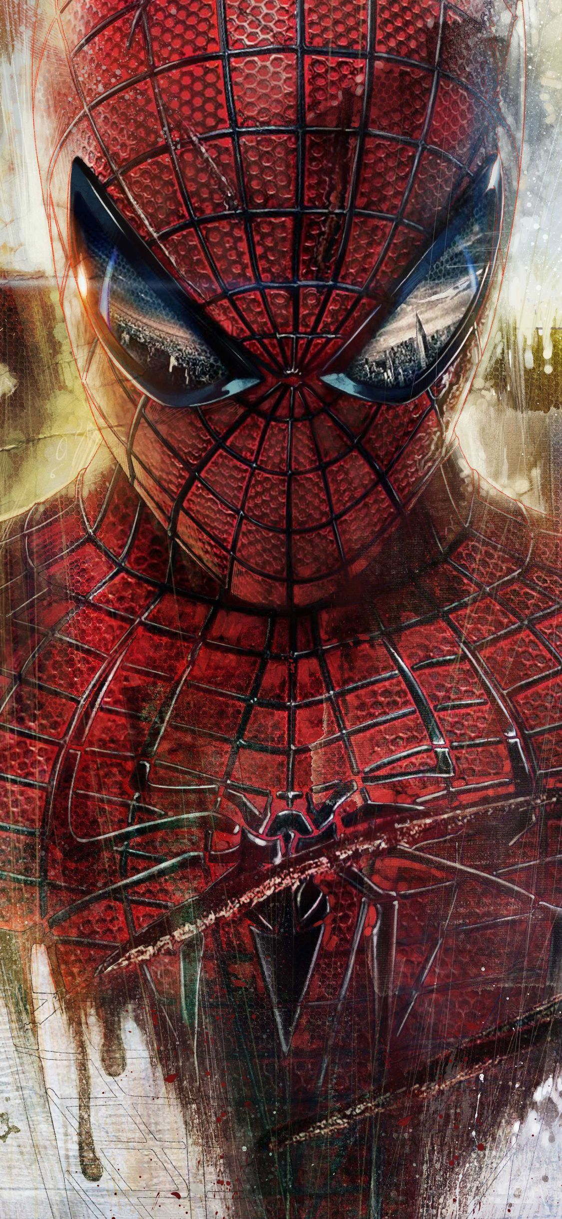 1125x2436 4k Spiderman Artwork Iphone XS,Iphone 10,Iphone