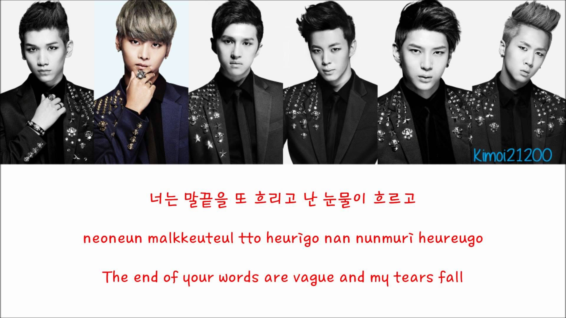 VIXX - On and On (다칠 준비가 돼 있어) [Hangul/Romanization/English] Color & Pic...