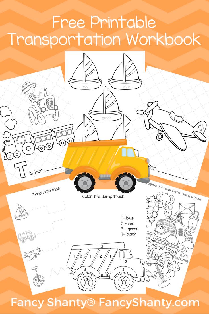Big Preschool Workbook Download - For Boys | Preschool workbooks ...