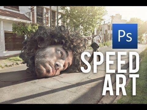 """Photoshop SPEED ART / Nº1 / """"Estrés"""""""