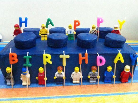 Lego brick birthday cake Lego brick birthday cake Pinteres