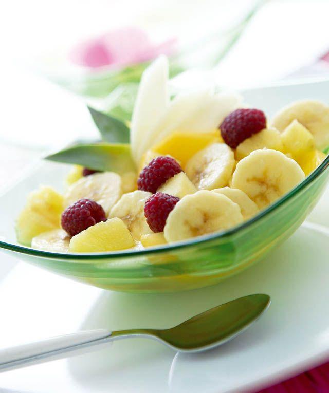 Salade de fruits frais à la cannelle