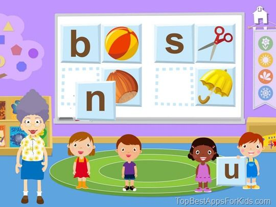 Best Ipad Iphone Android Kindle Fire Apps For Preschool