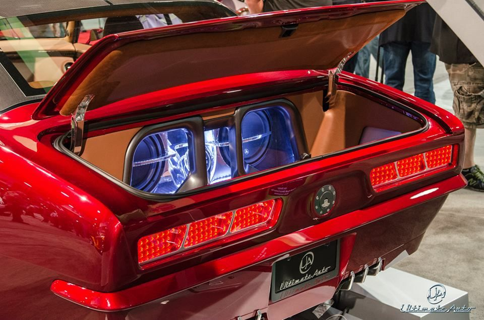 68 Camaro Custom Trunk Car Stereo Install Fiberglass Ultimate