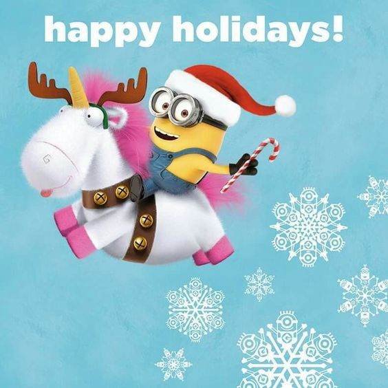 Funny Happy Xmas Quotes: Minion Holiday Quotes - Google Search