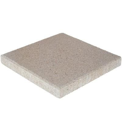 Pavestone 16 in  x 16 in  x 1 75 in  Pewter Square Concrete