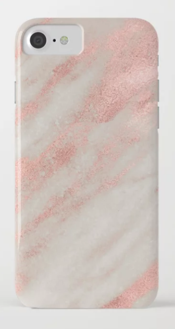 a0434f7d5 by Nature Magick Unique cute iphone cases for girls, marble, rose gold and  pink