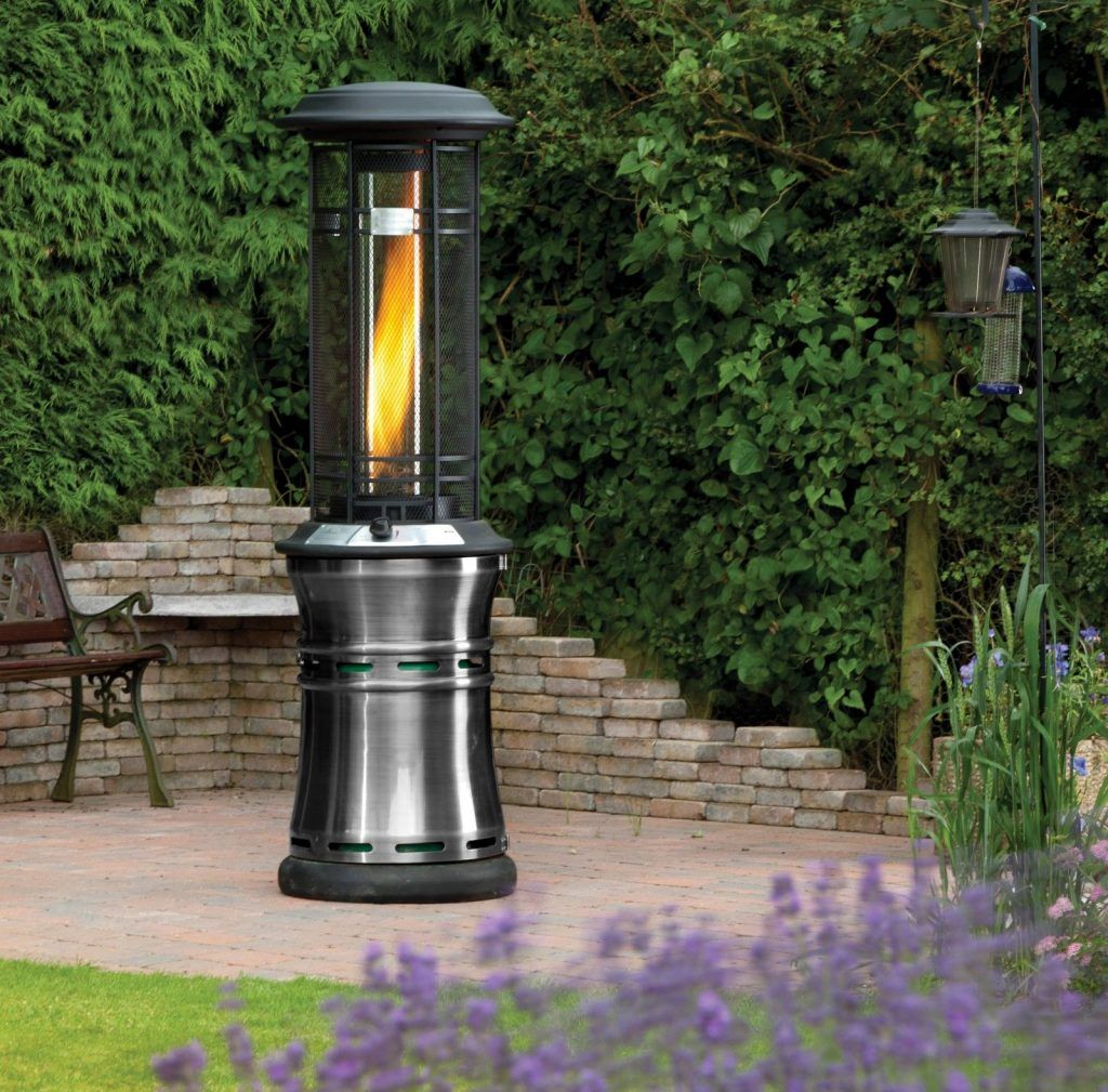 Attractive Santorini Real Flame Patio Heater Review  . Fire Sense ...
