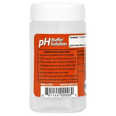 HM Digital pH Buffer Solution Variety Pack