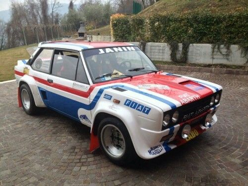Fiat 131 Abarth Gr 4 Abarth Racing Pinterest Fiat Cars And
