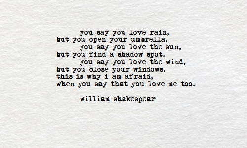Incroyable Shakespeare Love Quotes And Poems. QuotesGram