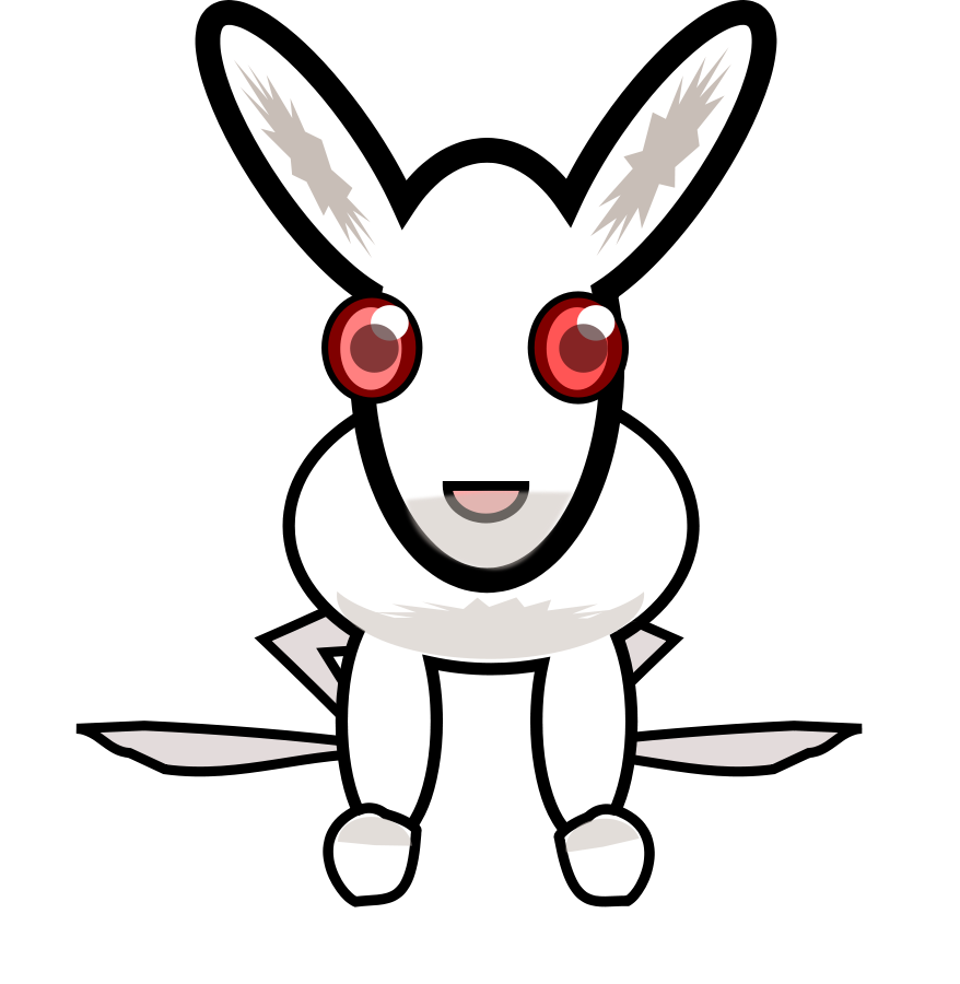 easer bunny rabbit vector clipart | Easter Bunny Clip Arts | Pinterest