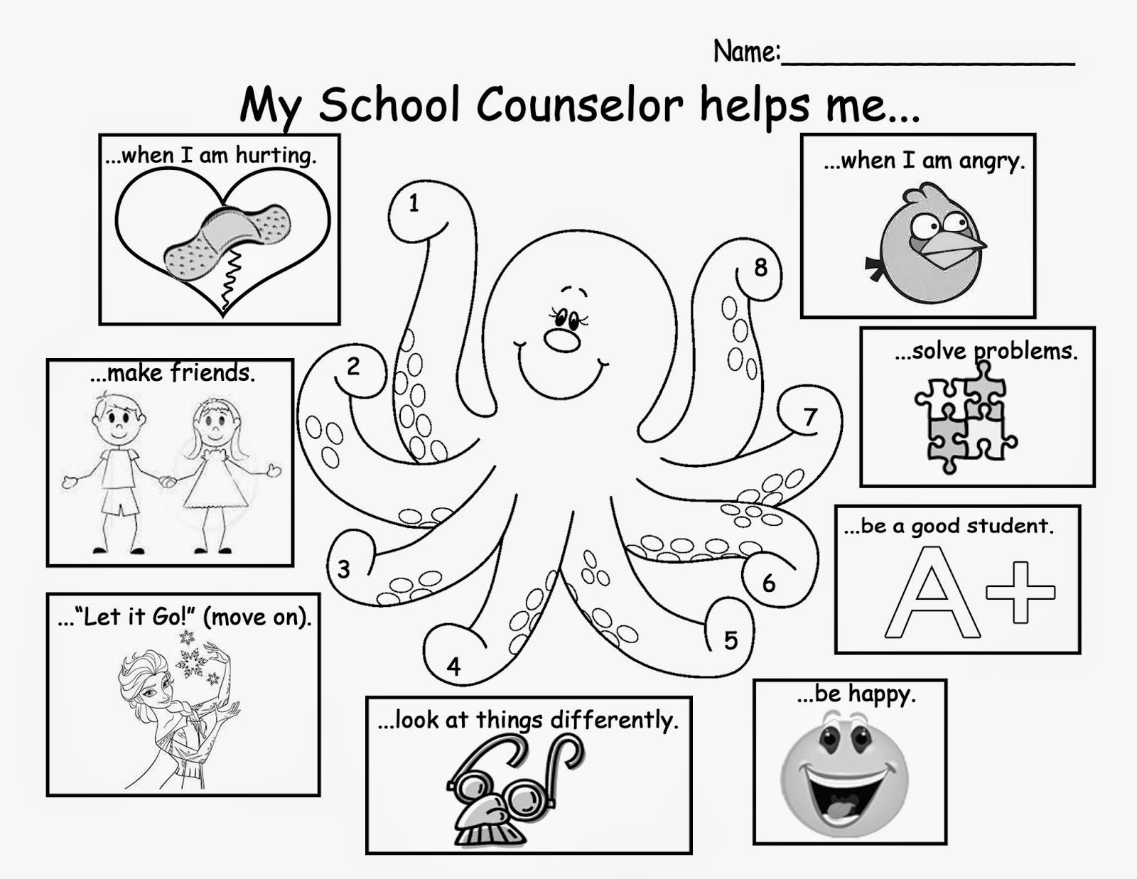 This is an image of Canny Elementary School Counseling Activities