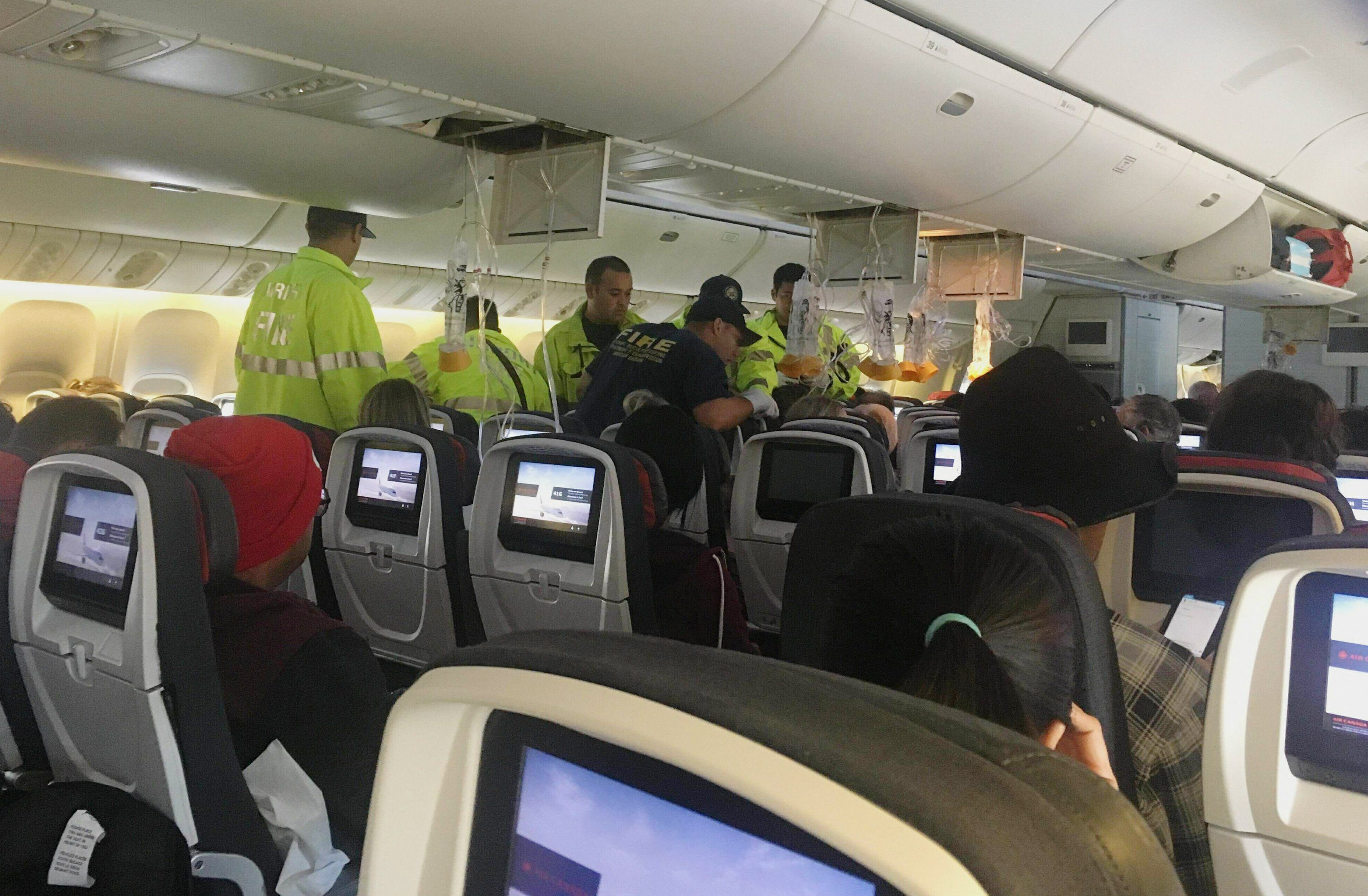 Passengers Violently Ejected From Seats On Turbulent Flight Air
