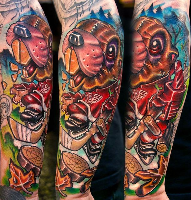 Josh Woods Black 13 Tattoo one of the best tattoo