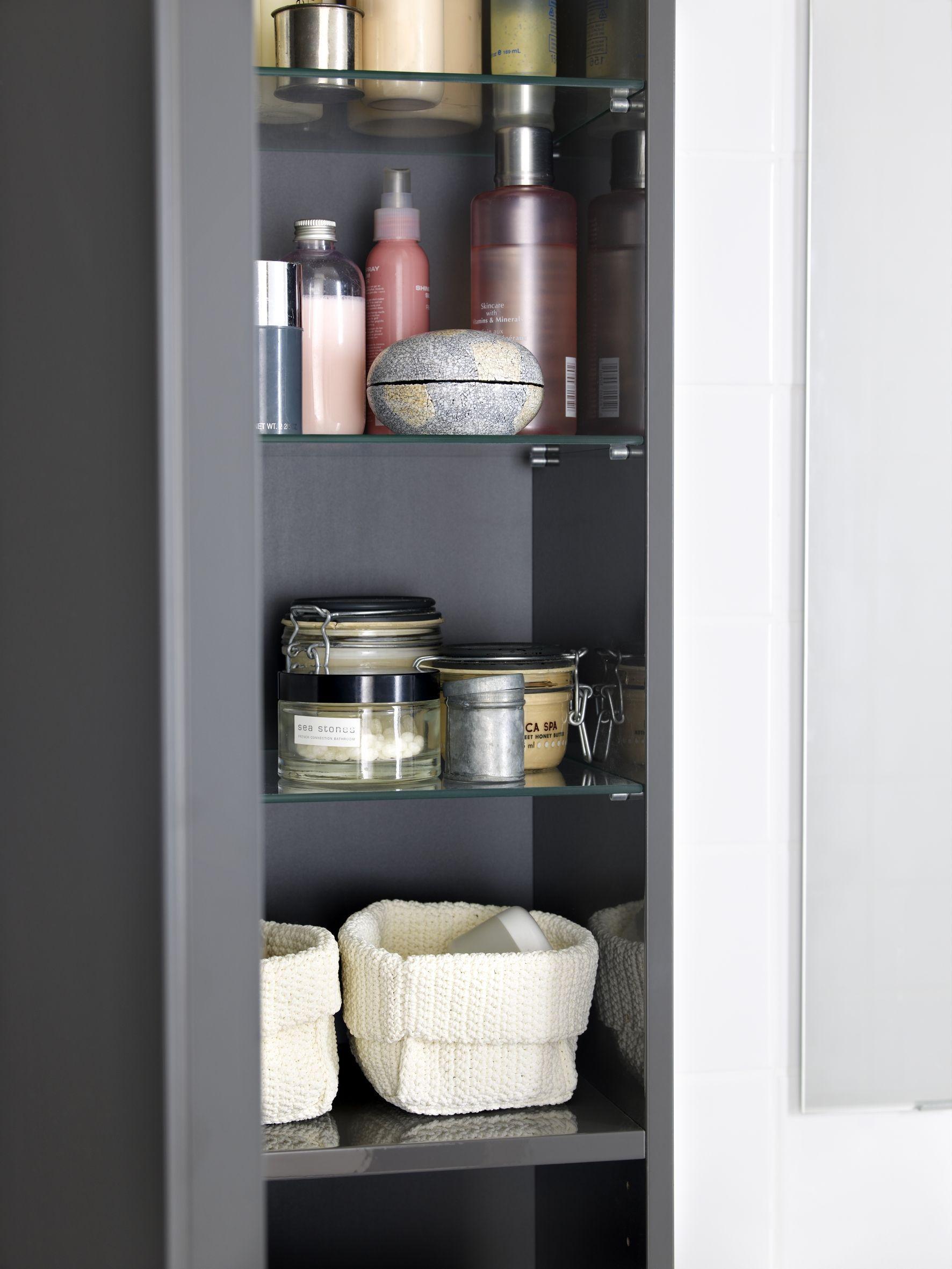 GODMORGON hoge kast | #IKEA #badkamer #kast #opberger | deco | Pinterest