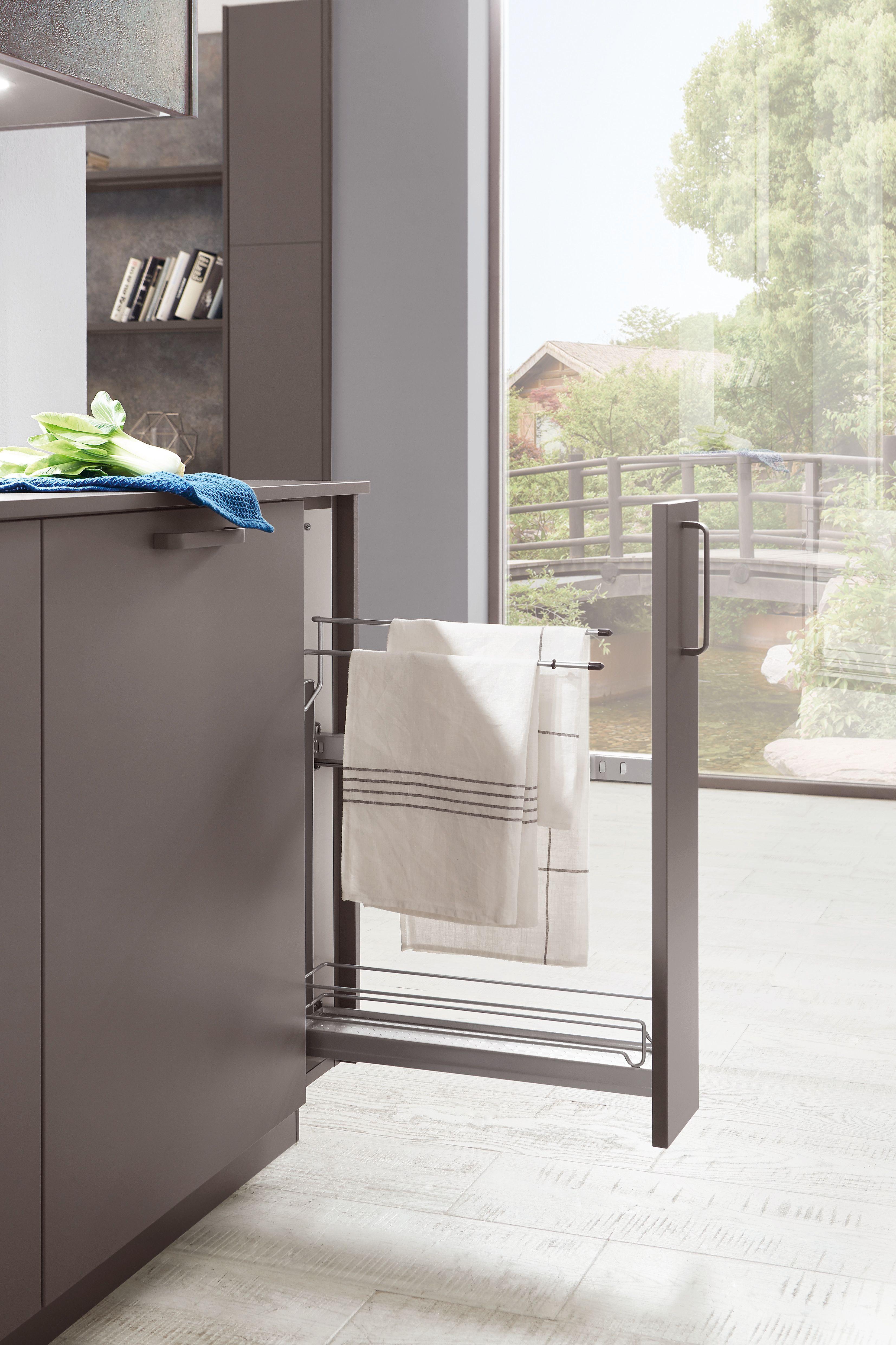 15 cm auszugschrank handtuchhalter | handtuchhalter küche
