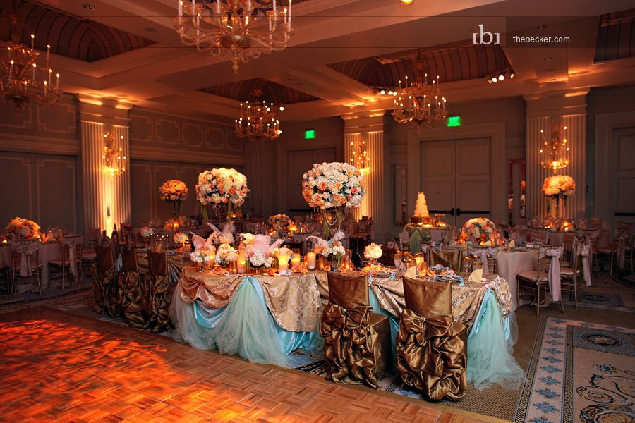 Masquerade Ball Themed Reception Beautiful