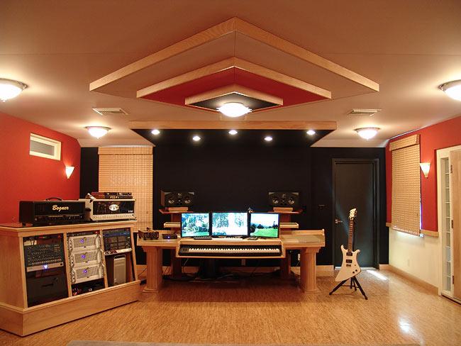 Audiomachine Composer 1 Front View Recording Studio Design Room Acoustics Design