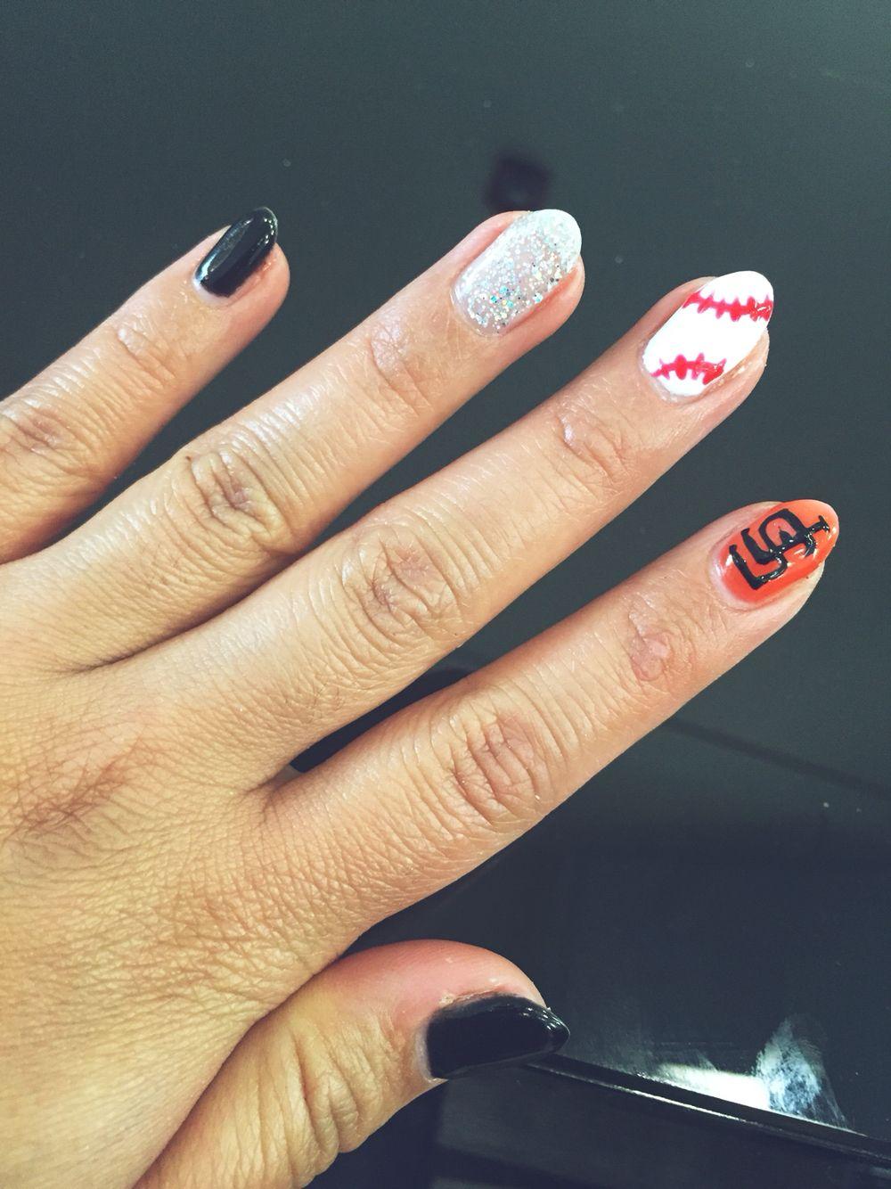 SF Giants nails -Anna Paris Nails Salon Reno NV | BEAUTIFY ME ...