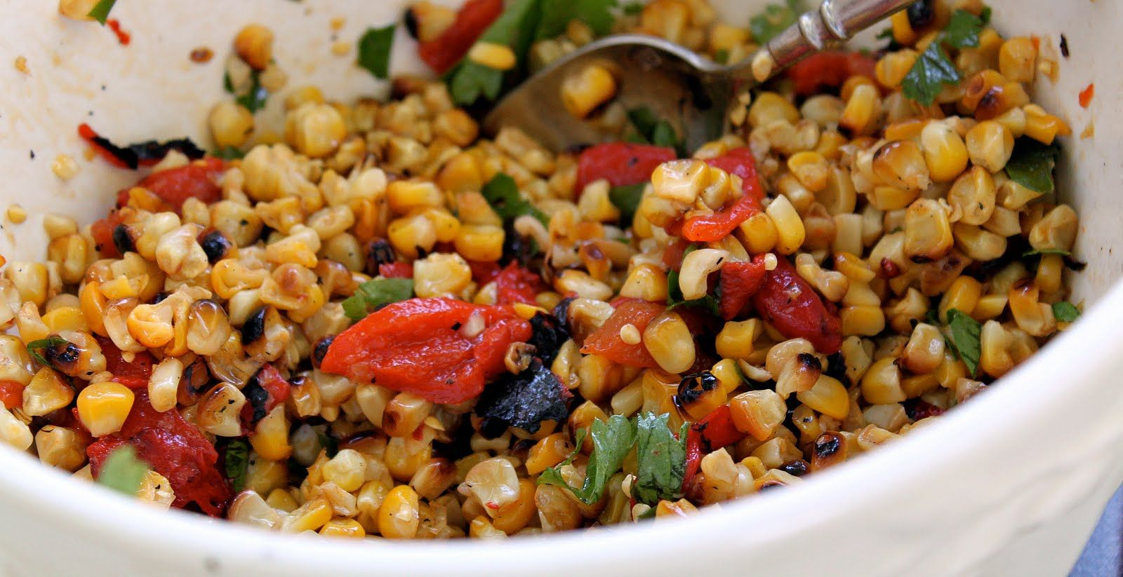 It's corn season – yipppee!! I love a fresh, sweet ear of corn on the cob in the summer. Here's another recipe from Matilda's Summer Garden Party. This grilled corn salad can be changed up with the addition of different herbs and vegetables, but the base always stays the same – amazingly delicious grilled corn! …