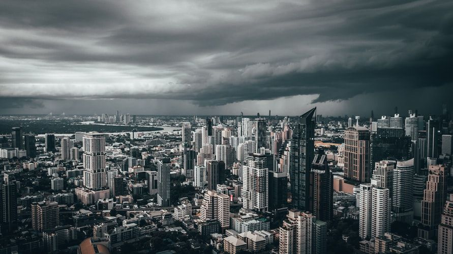 Bird S Eye View Photography Of Towers Photo Free Grey Image On Unsplash Aerial View Birds Eye View Photography Thailand Vacation