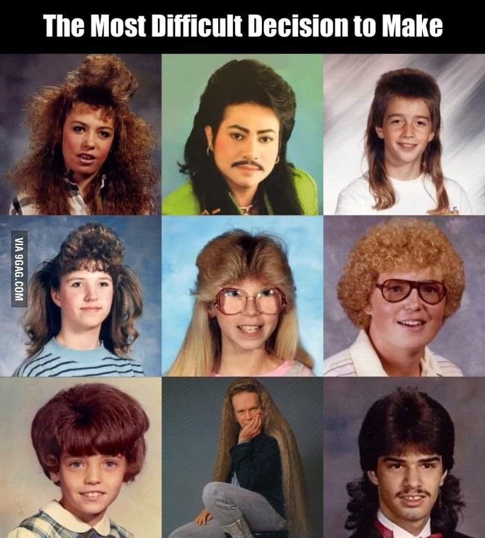 If You Have To Choose One Of These Hairstyles Which Would You Choose Funny Pictures I Laughed Make Me Laugh