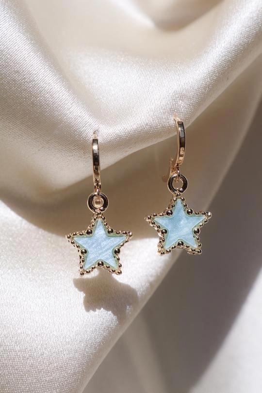 Photo of Neon Blue Apatite, Raw Crystal Earrings, Rough Crystal Prong Studs, Aquamarine Alternate, Blue Birthday Earrings, March Birthstone Jewelry – Fine Jewelry Ideas