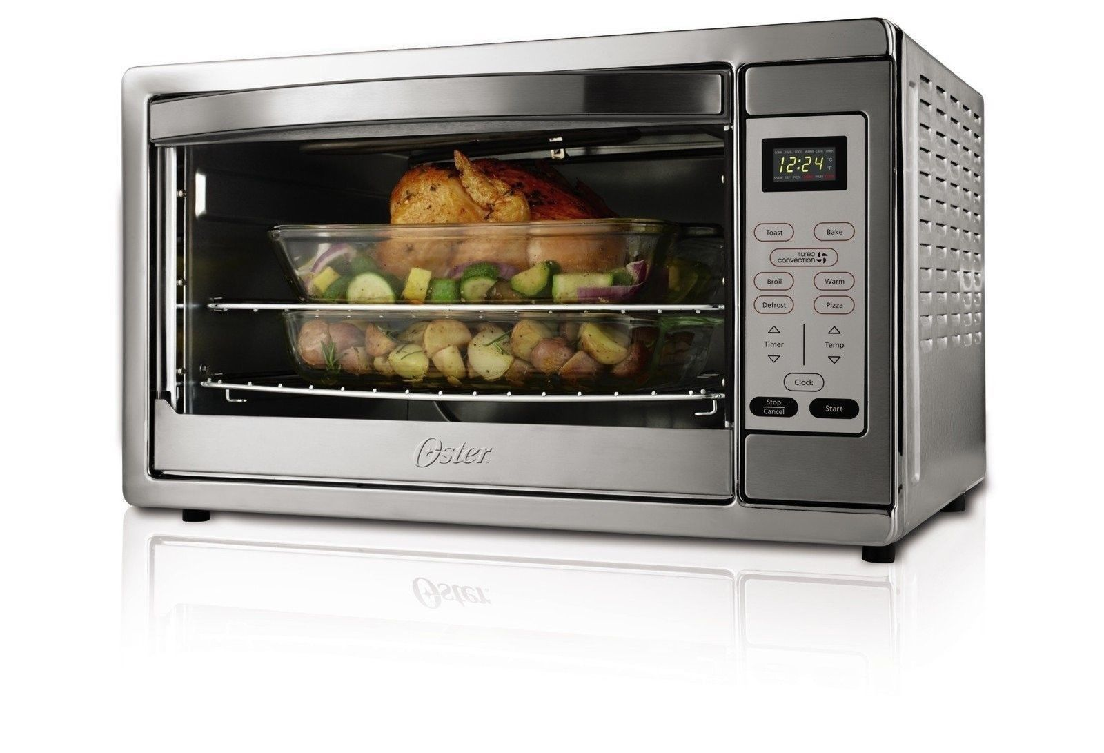 Oster Extra Large Digital Countertop Oven Stainless Steel