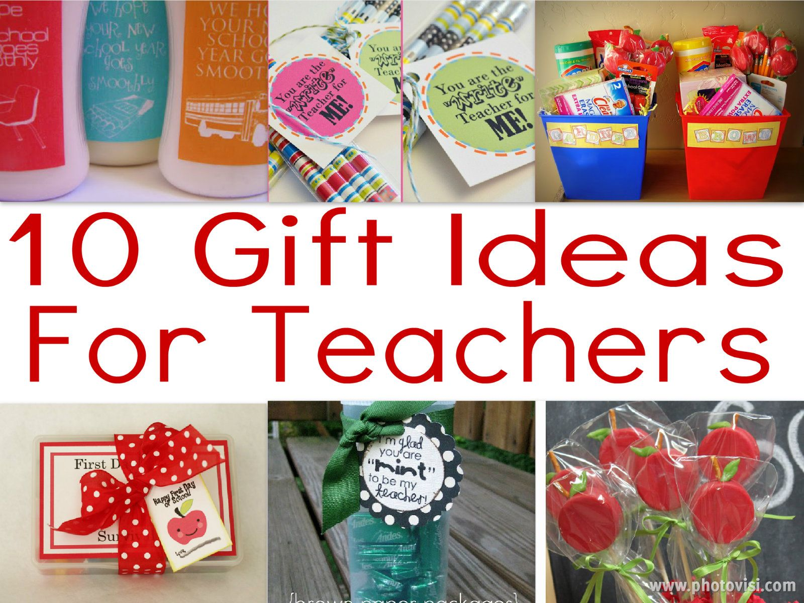 10 Teacher Gifts For The First Day Of School For My