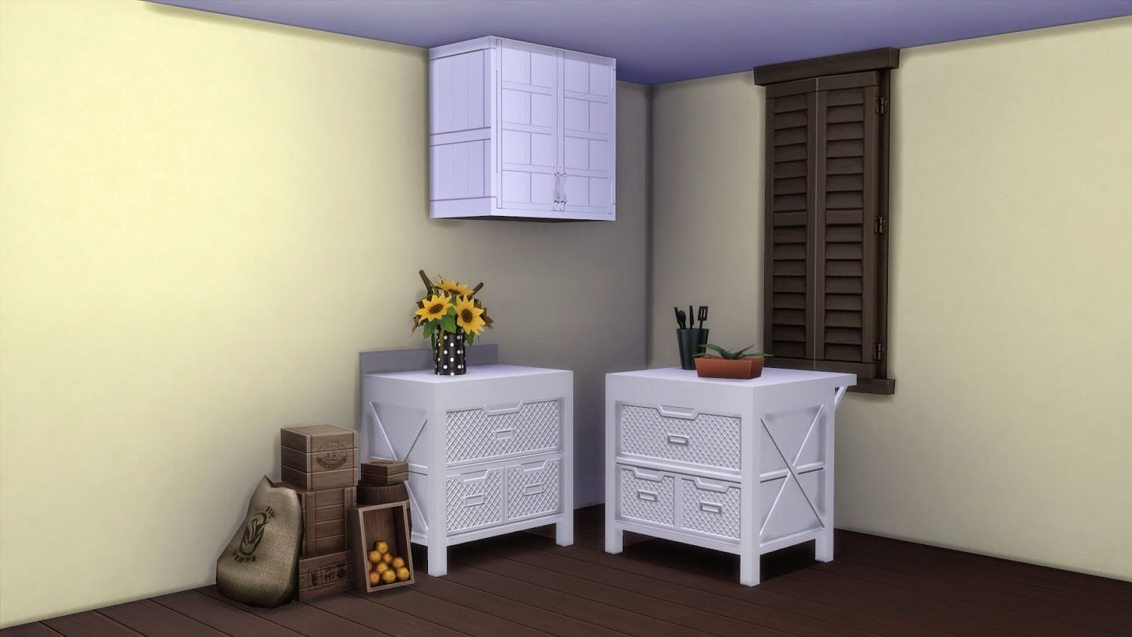 Kym's Creations: Kitchen Counters & Cabinets Recolor - Sims 4