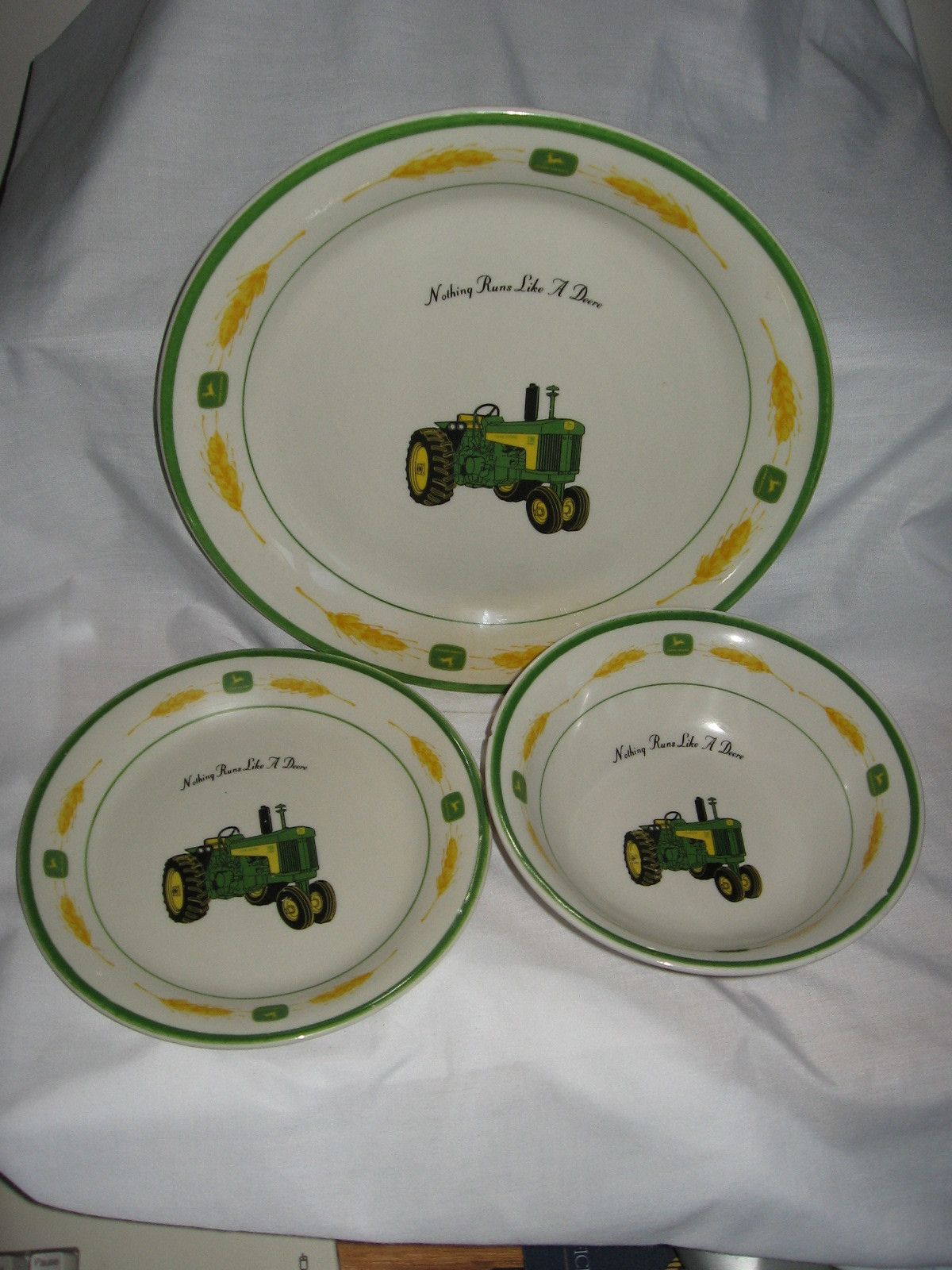 John Deere Dishes Kitchen