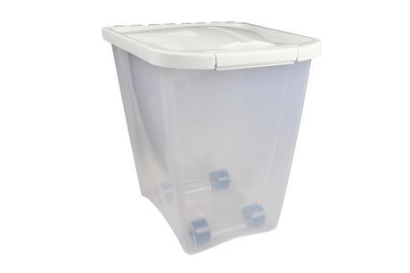 Van Ness 25lb Pet Food Container White 25 Lbs Pet Food Container